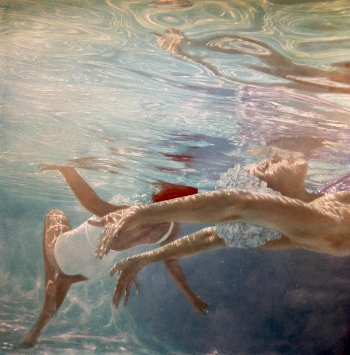 """""""Paige & Rebecca Underwater"""" by Elise Remender 
