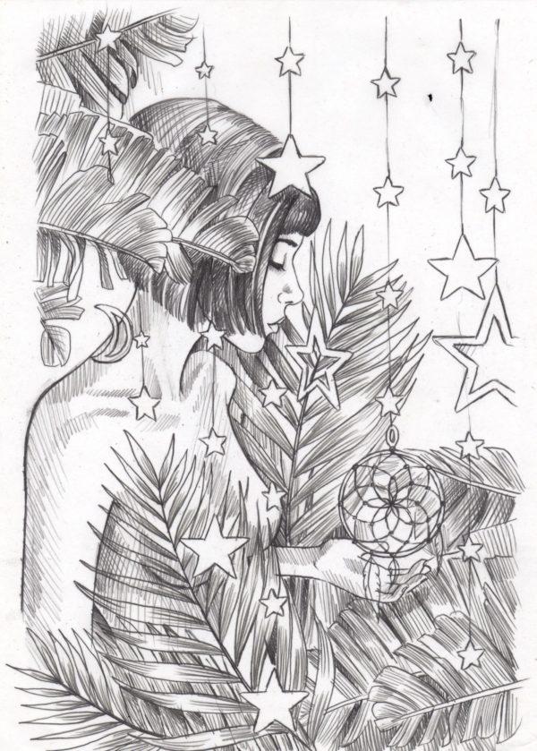 Dream a Little Dream Sketch