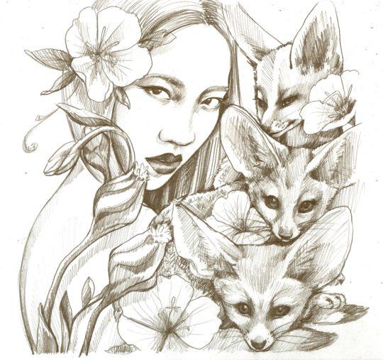 Foxy Lady Sketch