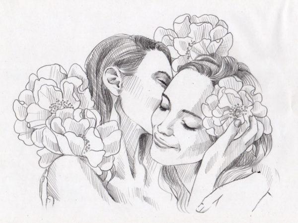 Friends Sketch