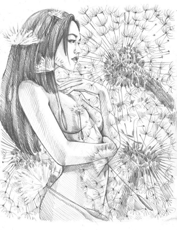Summer Light Sketch