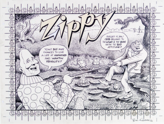 Front Cover 1993 Zippy Calendar