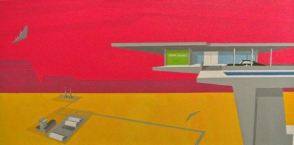 Atom Lounge by Michael Murphy