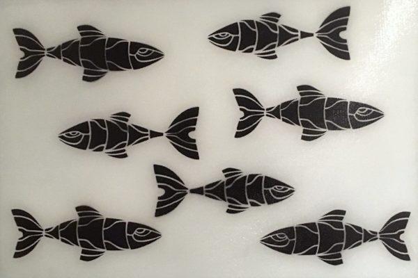 B/W Fish Pane
