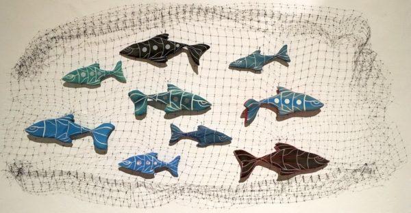 """Fish School"" Installation"