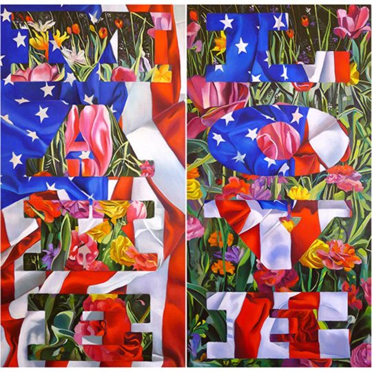 Make Love (Diptych)