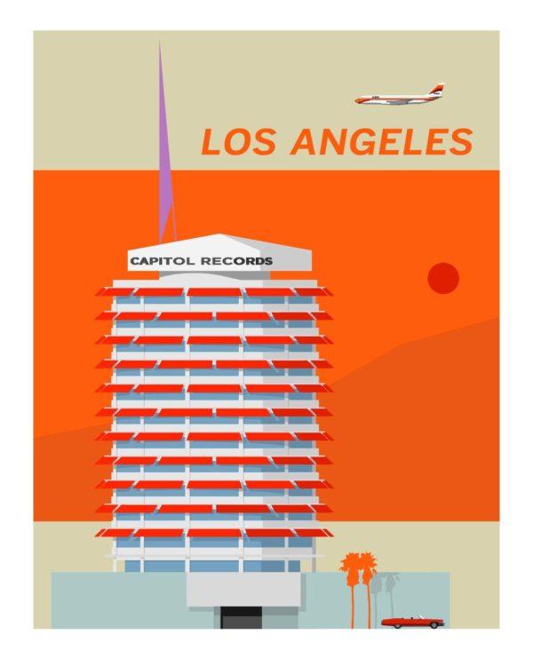 Capitol Records Orange