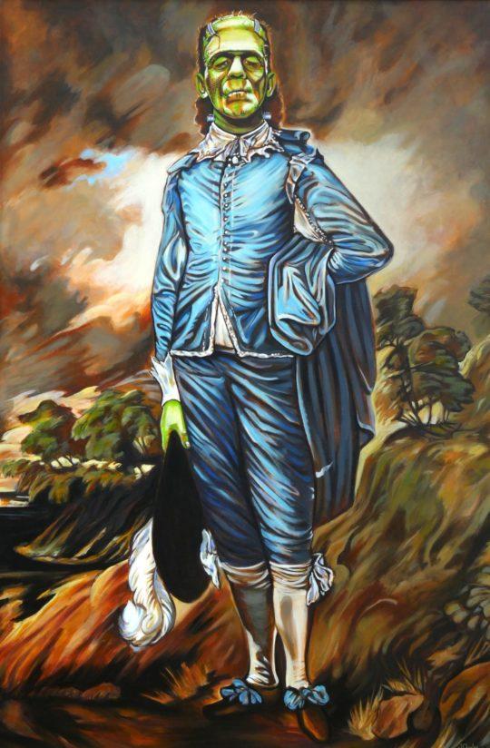 Blueboy Frankenstein
