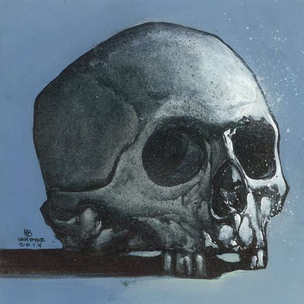Skull Study (Acrylic)