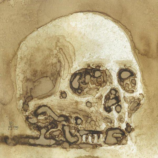 Skull Study (Coffee)