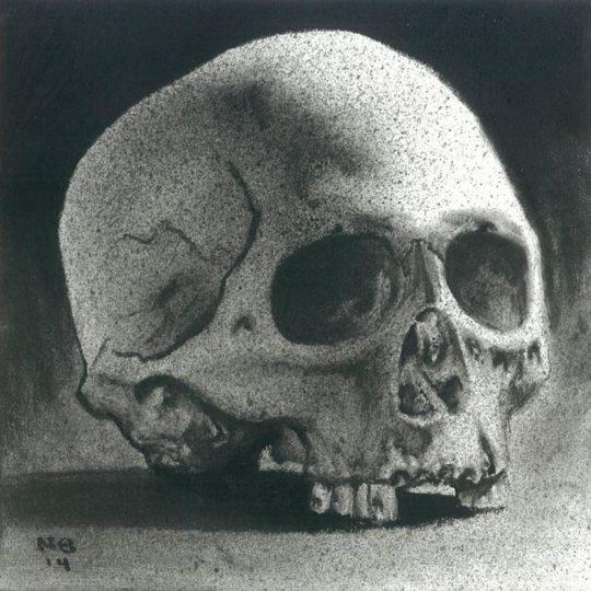 Skull Study (Eyeliner)