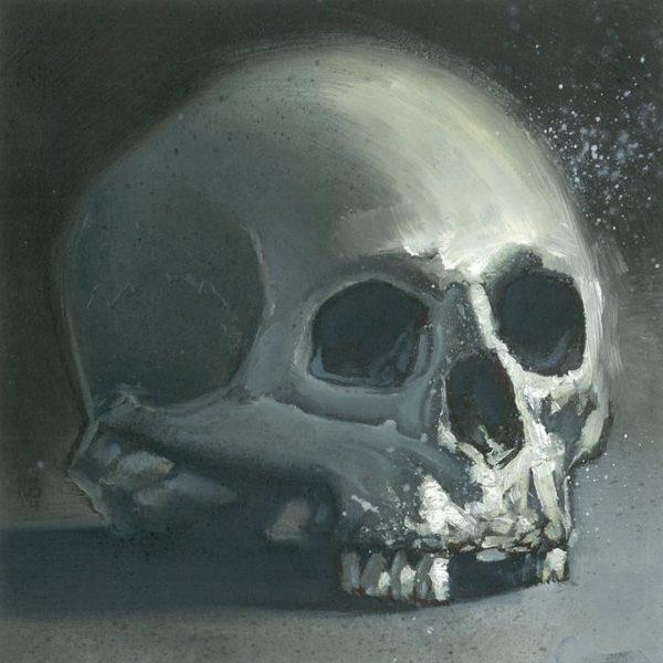 Skull Study (Oil)