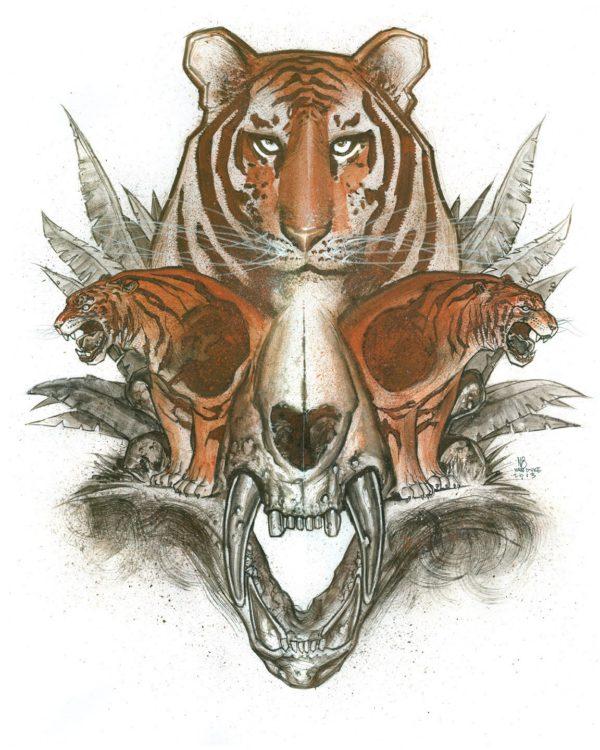 Rusty Tiger by Nate Van Dyke