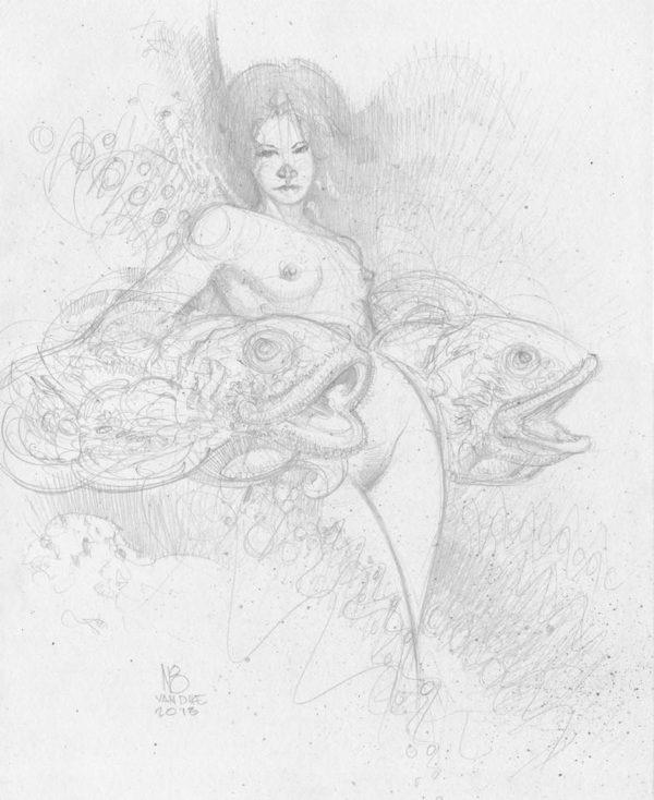 Deb Sue Sketch (Study)